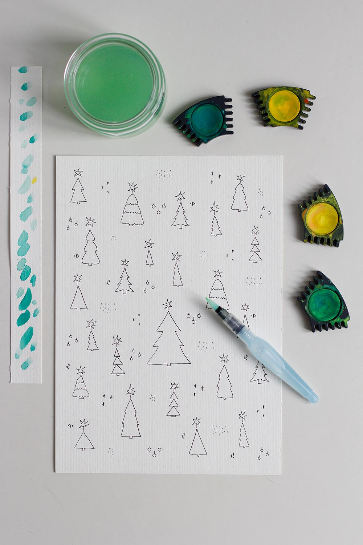DIY: Adventkalender zum Ausdrucken | we love handmade