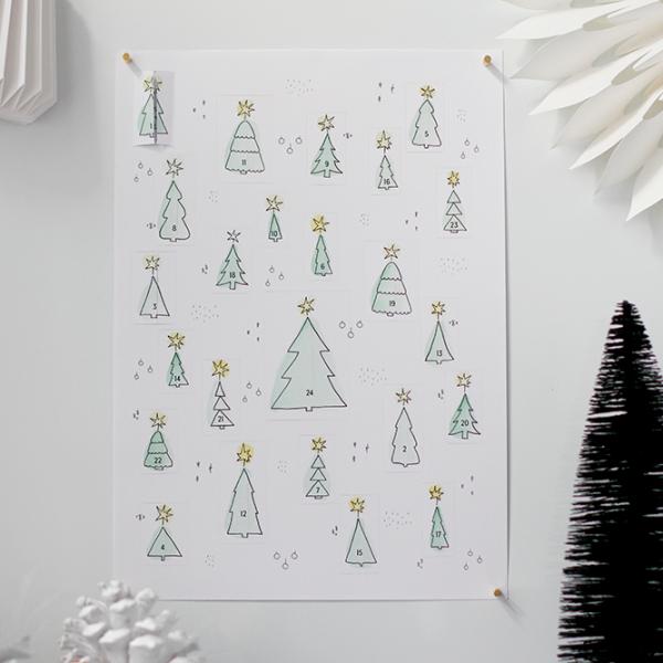 DIY: Adventskalender zum Ausdrucken | we love handmade