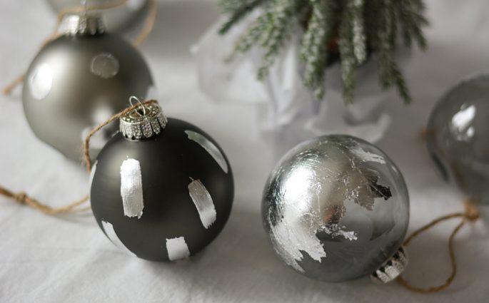DIY: Weihnachtsbaumkugeln kreativ gestalten | we love handmade