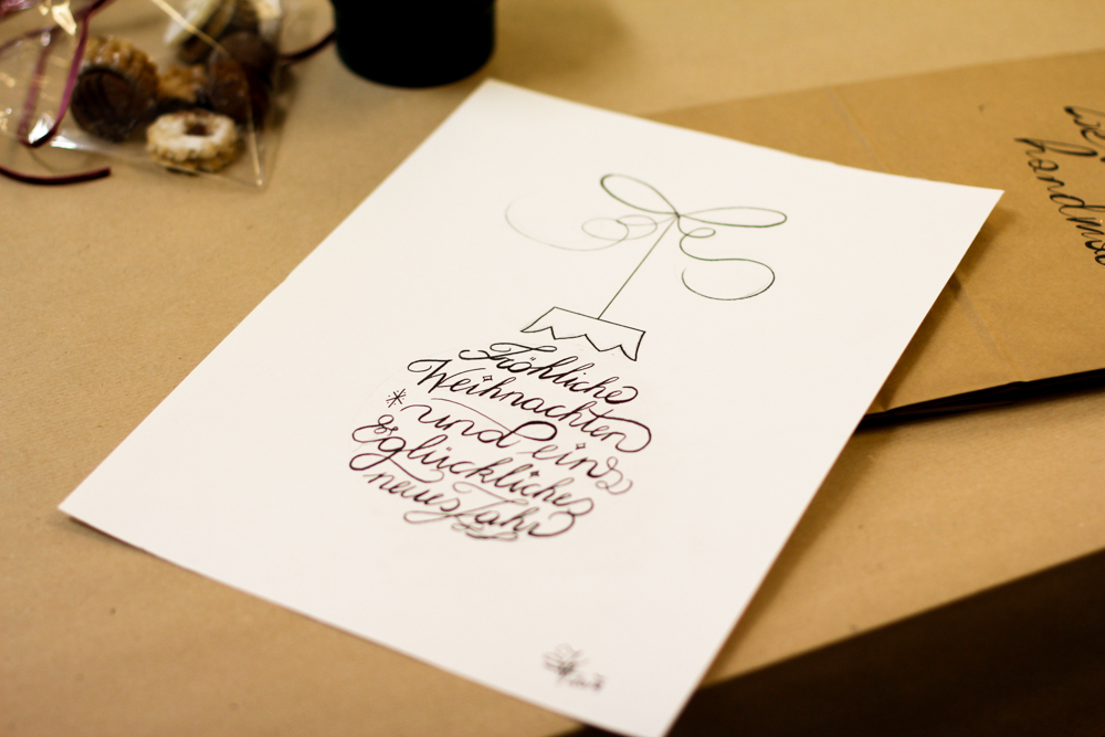 Lettering: Christmas | we love handmade