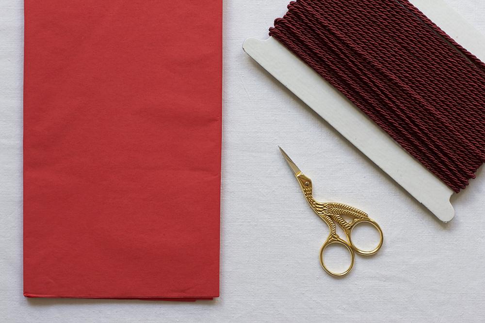 Seidenpapierblume: Material | we love handmade