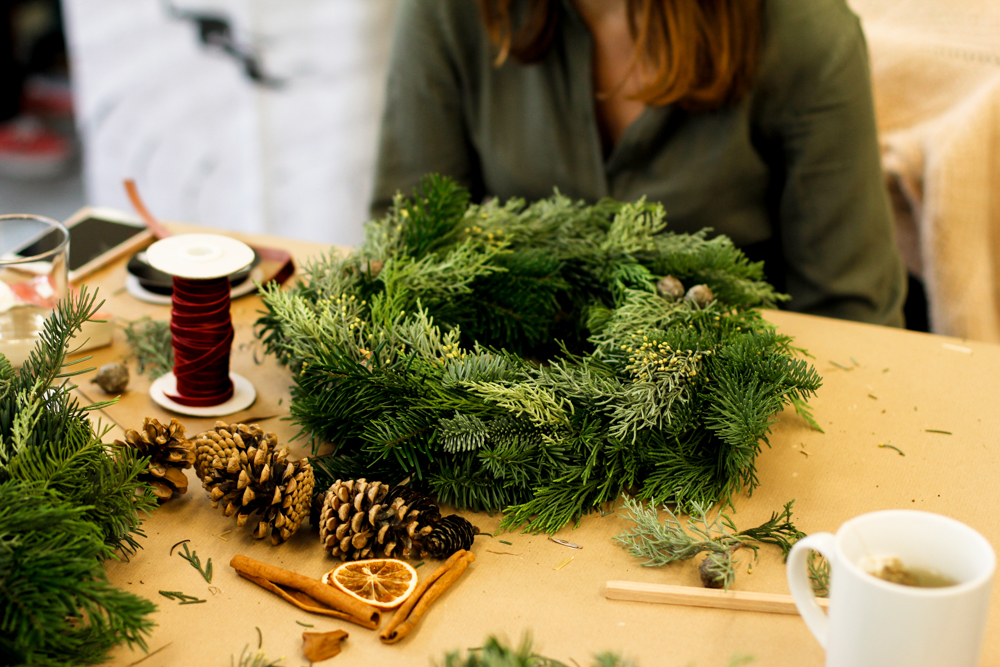 Workshop: Adventkranz binden | we love handmade