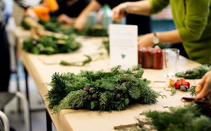Workshops: Weihnachtsmarkt | we love handmade