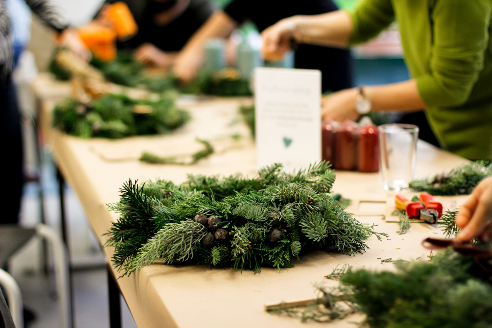 Workshops: Weihnachtsmarkt | we love handmade