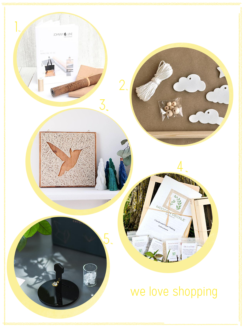 we love Shopping: Craft Kits verschenken | we love handmade