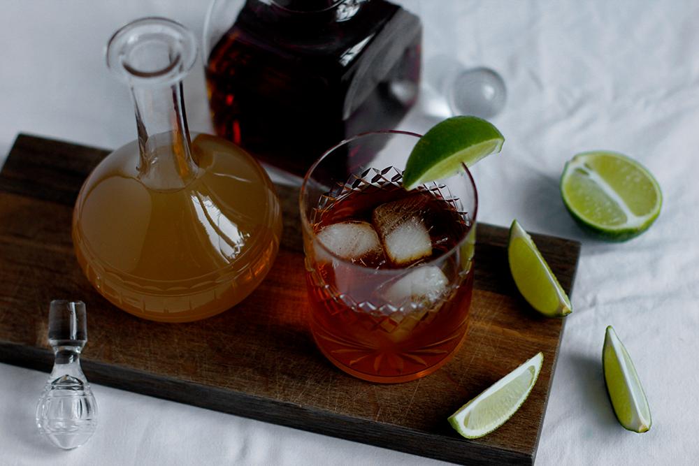 Drink: Rezept für winterlichen Dark and Stormy mit selbst gemachtem Ginger Beer| we love handmade