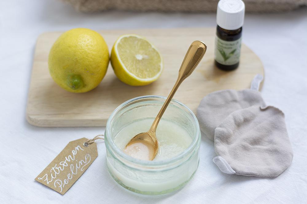 DIY: Zucker-Zitronen-Peeling | we love handmade