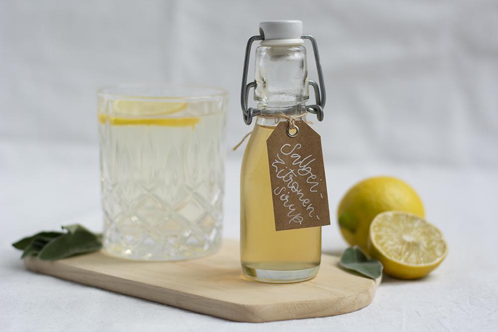 Drink-Rezept: Salbei-Zitronen-Sirup | we love handmade