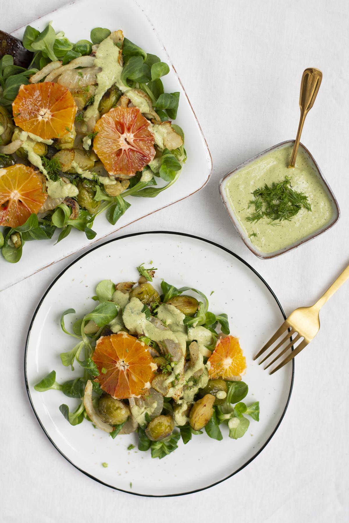 Kohlsprossen-Fenchel-Salat: Rezept | we love handmade