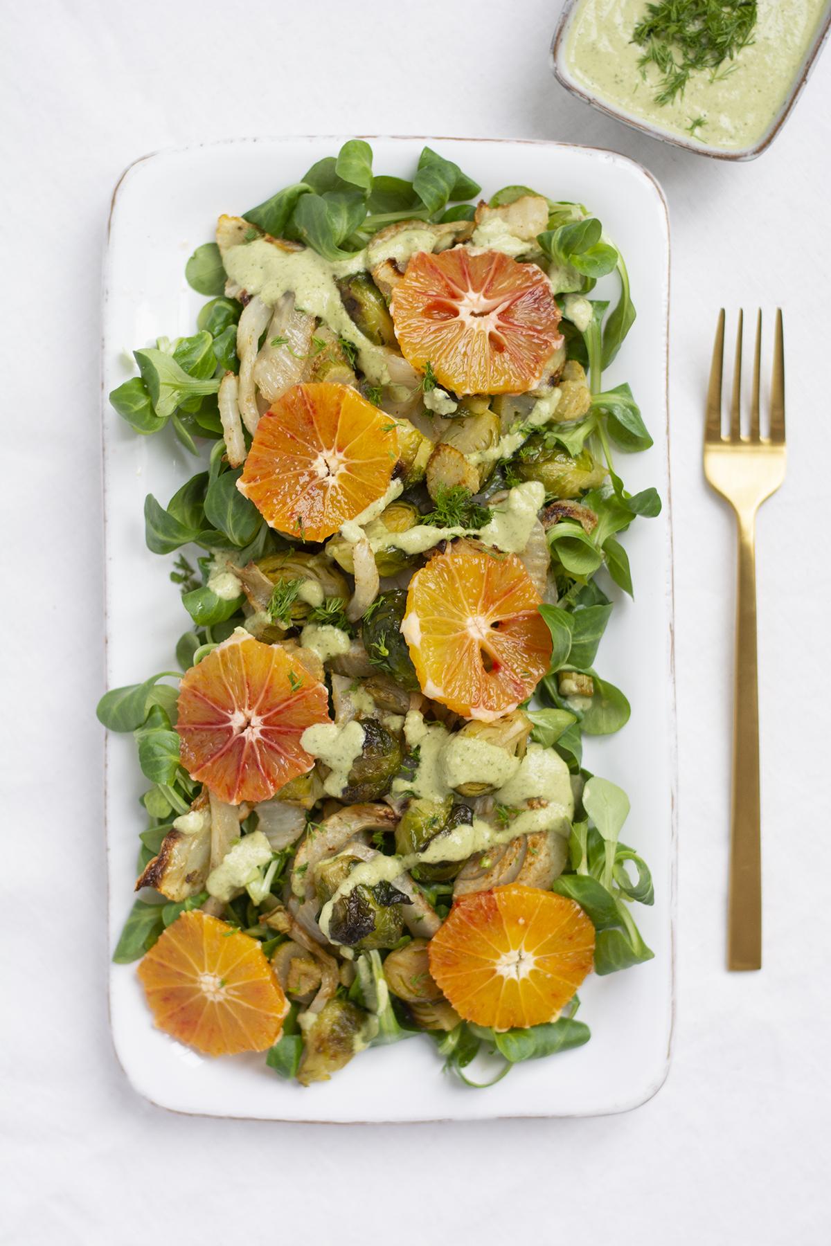 Rezept: Kohlsprossen-Fenchel-Salat | we love handmade