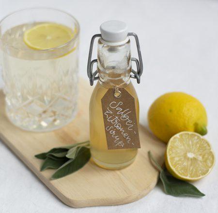 Drink: Salbei-Zitronen-Sirup
