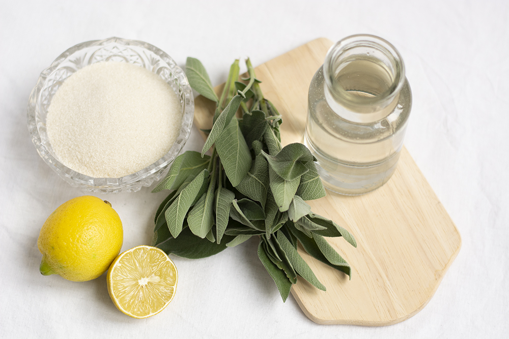 Zitronen-Salbei-Sirup: Zutaten | we love handmade