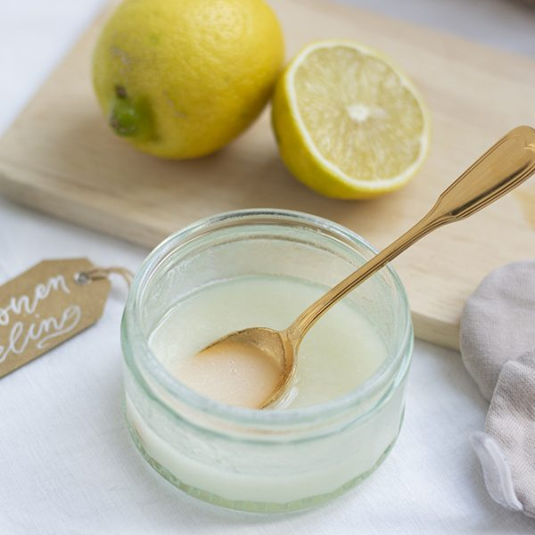 Zucker-Zitronen-Peeling: Rezept | we love handmade