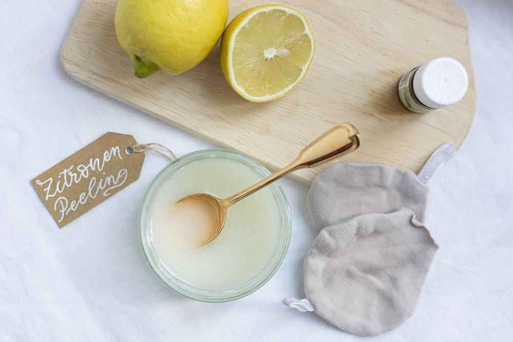 Zucker-Zitronen-Peeling | we love handmade