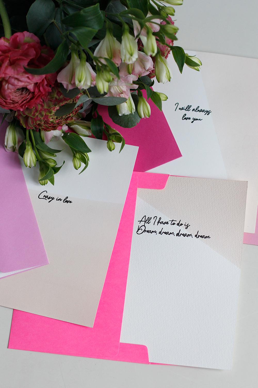 DIY-Anleitung: Valentinskarten selber machen | we love handmade