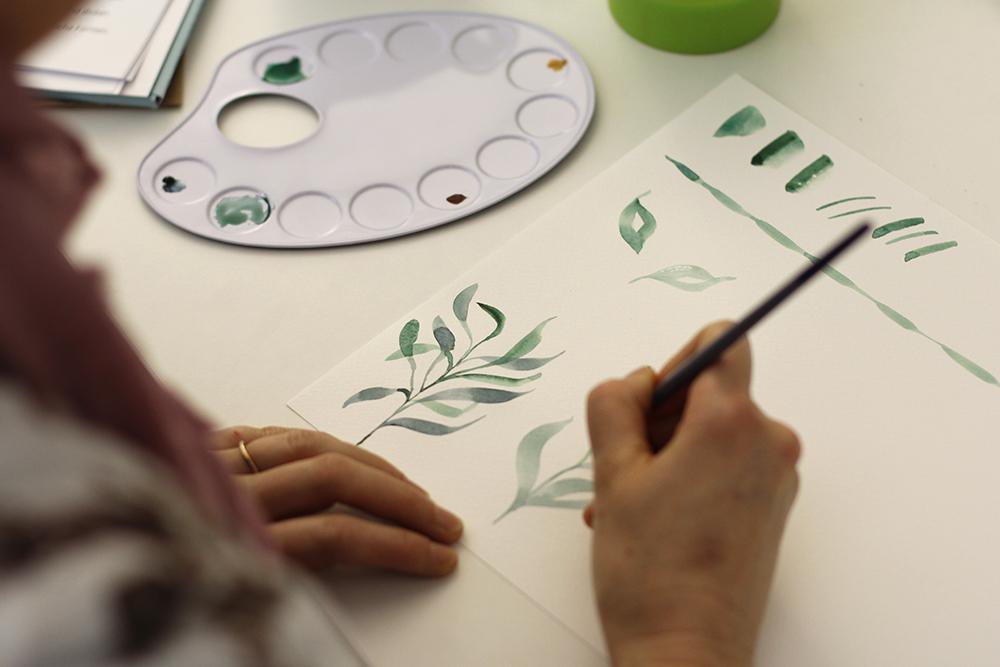 Aquarellmalerei-Kurs | we love handmade