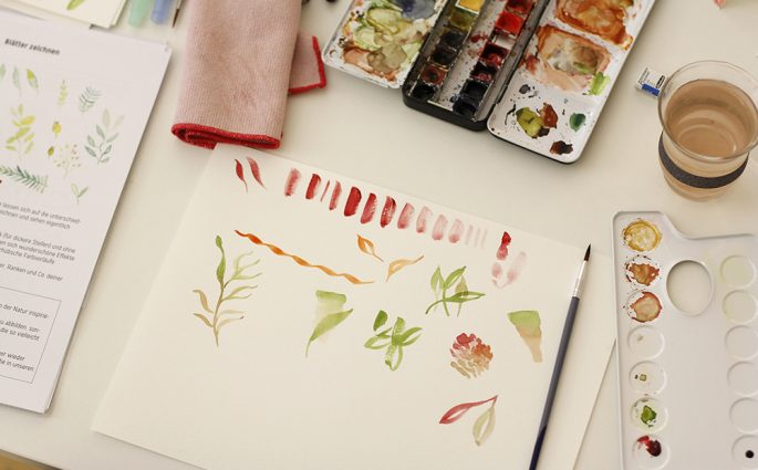 Aquarellmalerei Wien: Workshop | we love handmade