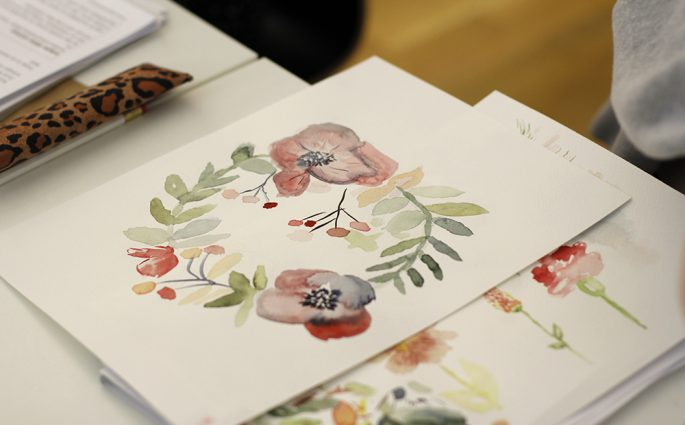 Aquarellmalerei-Workshop in Wien | we love handmade