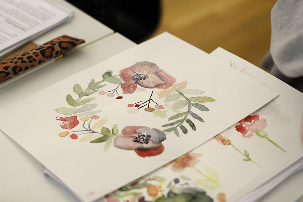 Aquarellmalerei-Workshop in Wien | we love handmade