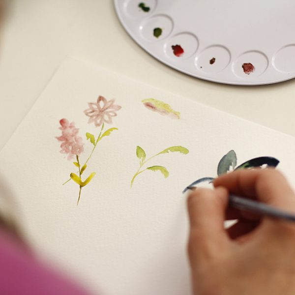 Aquarellmalerei: Workshop | we love handmade