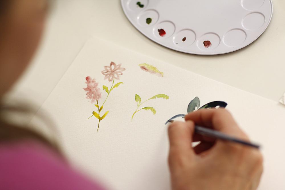 Aquarellmalerei: Workshop | we love handmade