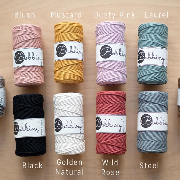 Bobbiny Farbauswahl für Makrameegarn: Craft Kits | we love handmade