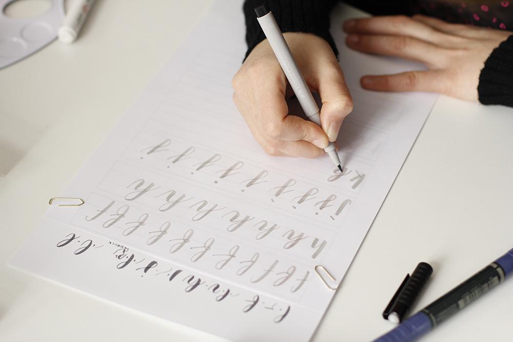 Brush Lettering: DIY-Workshop Wien | we love handmade