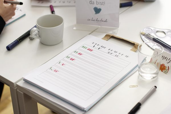 Brush Lettering lernen in Wien | we love handmade