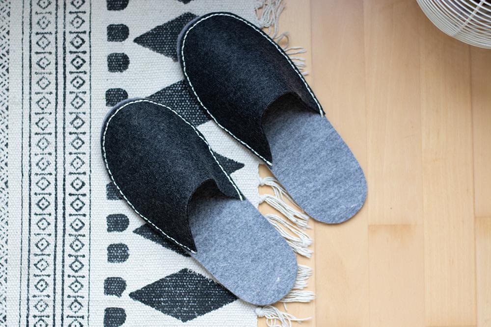 DIY: Hausschuhe selber machen   we love handmade