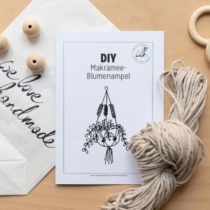 DIY-Kit: Makramee-Blumenampel | we love handmade