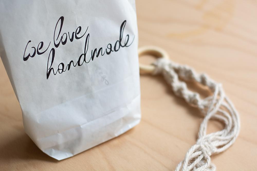 DIY-Kit: Makramee-Blumenampel | we love handmade
