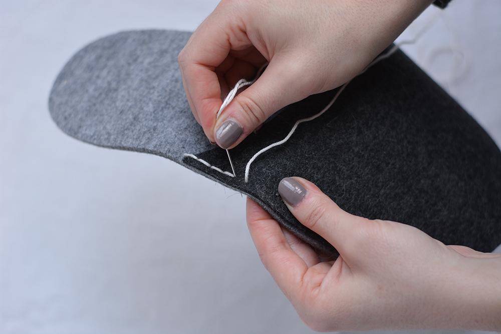 Filz-Hausschuhe: DIY   we love handmade