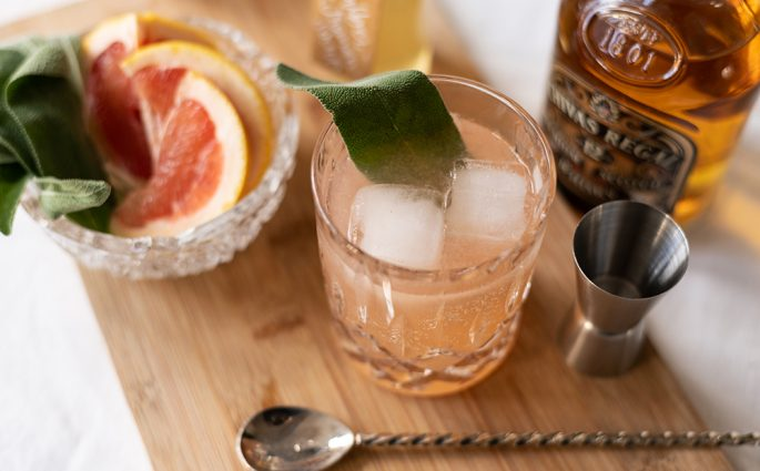 Grapefruit Whiskey Sour: Rezept | we love handmade