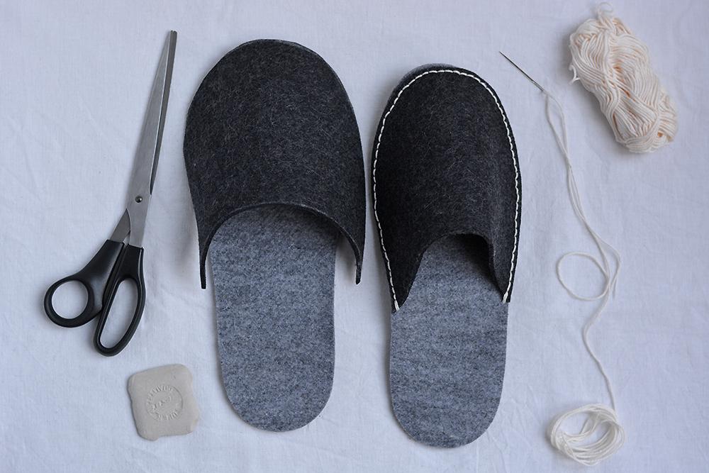 Hausschuhe nähen: DIY   we love handmade