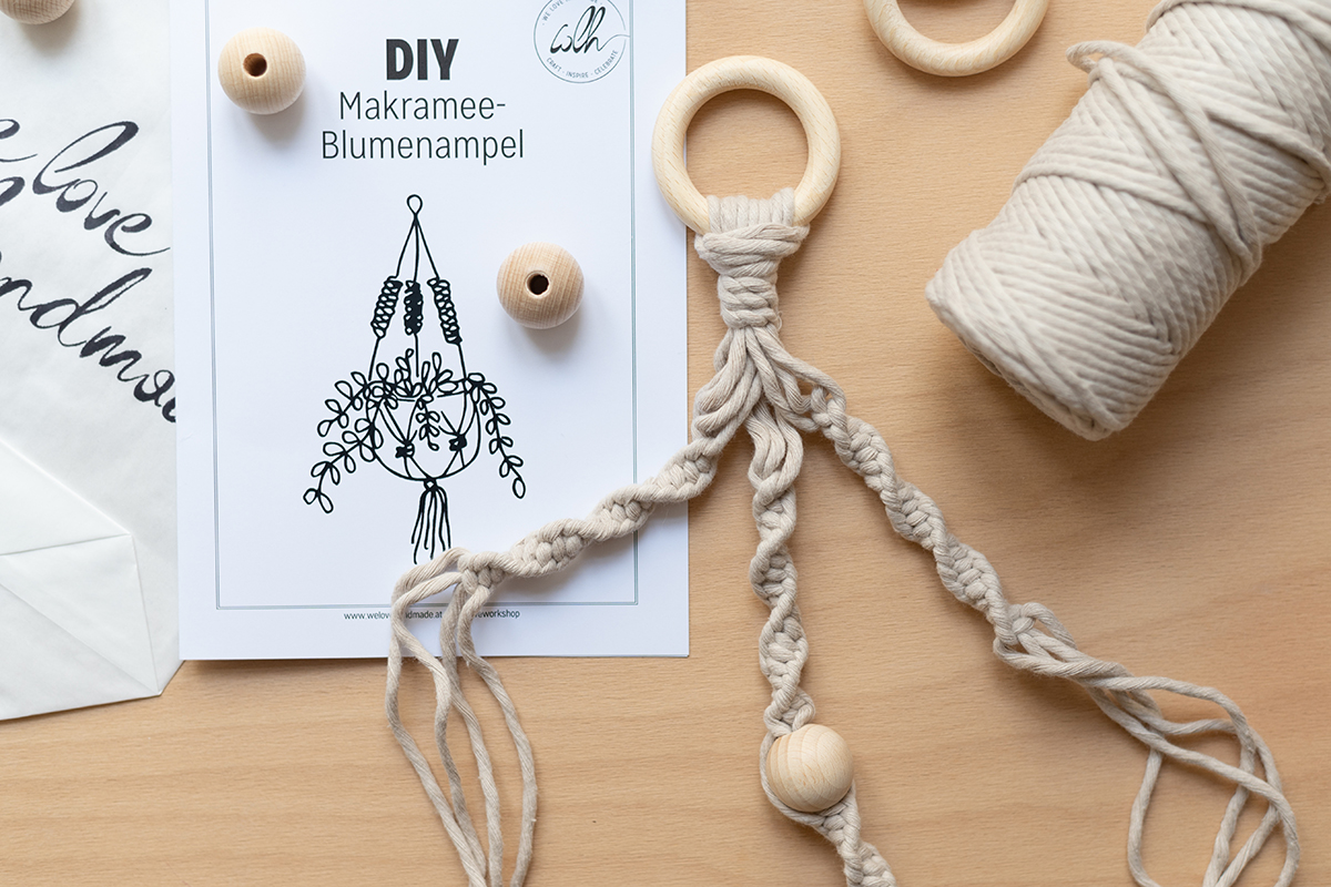 Makramee: DIY-Craft-Kit   we love handmade