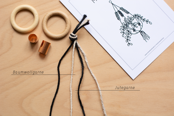 Makramee-Garne: DIY-Kit | we love handmade