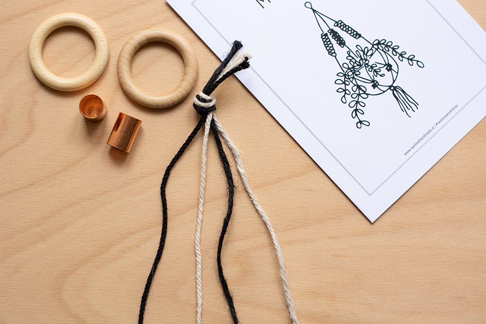 Makramee-Kit: Blumenampel-DIY | we love handmade