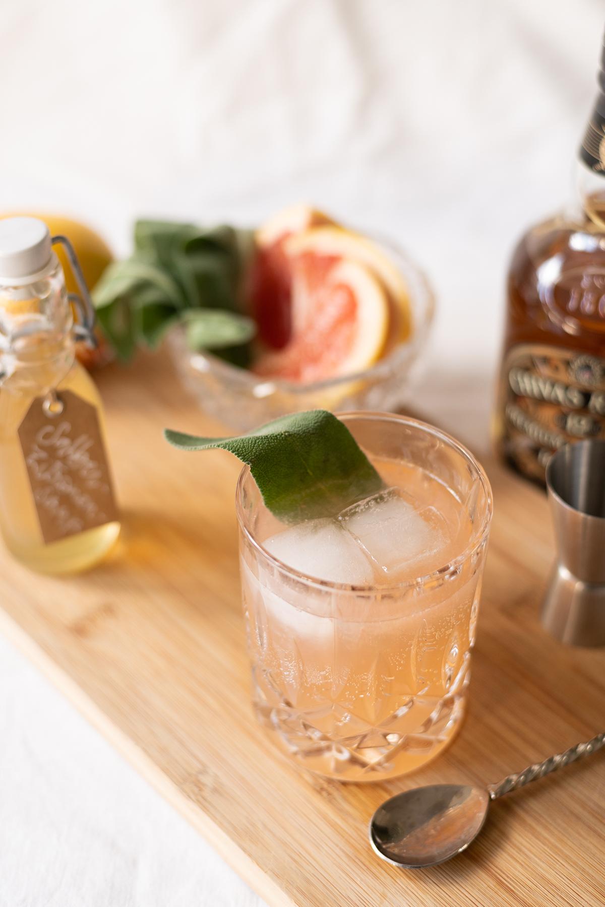Rezept: Grapefruit Whiskey Sour | we love handmade