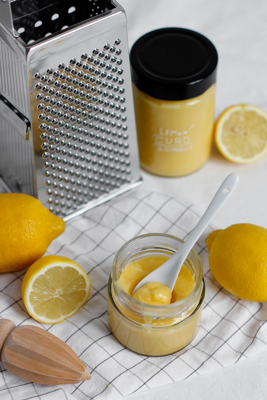 Rezept: Lemon Curd mit Ingwer selber machen | we love handmade
