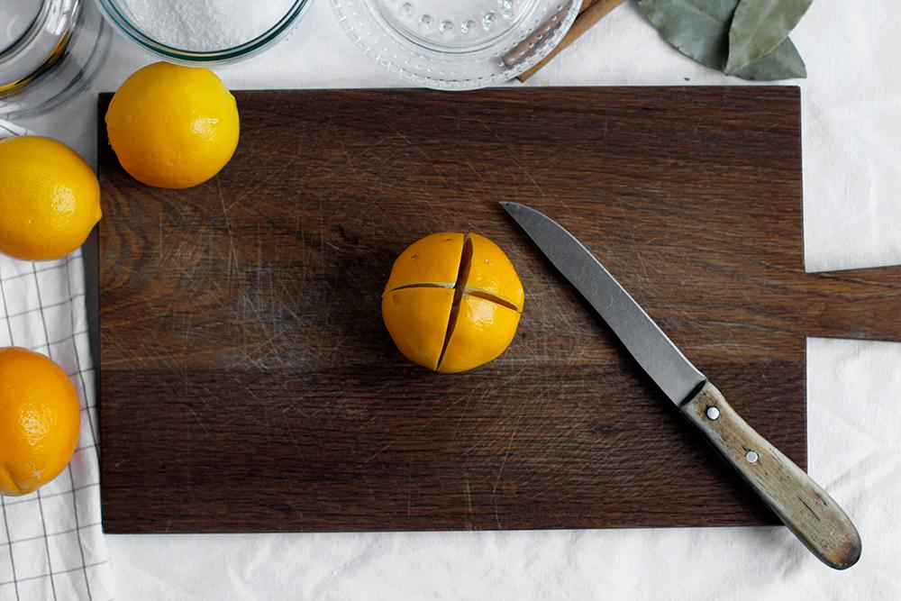 Rezept: Salzzitronen einschneiden | we love handmade