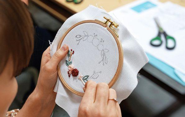 Sticken lernen: DIY-Workshop |we love handmade