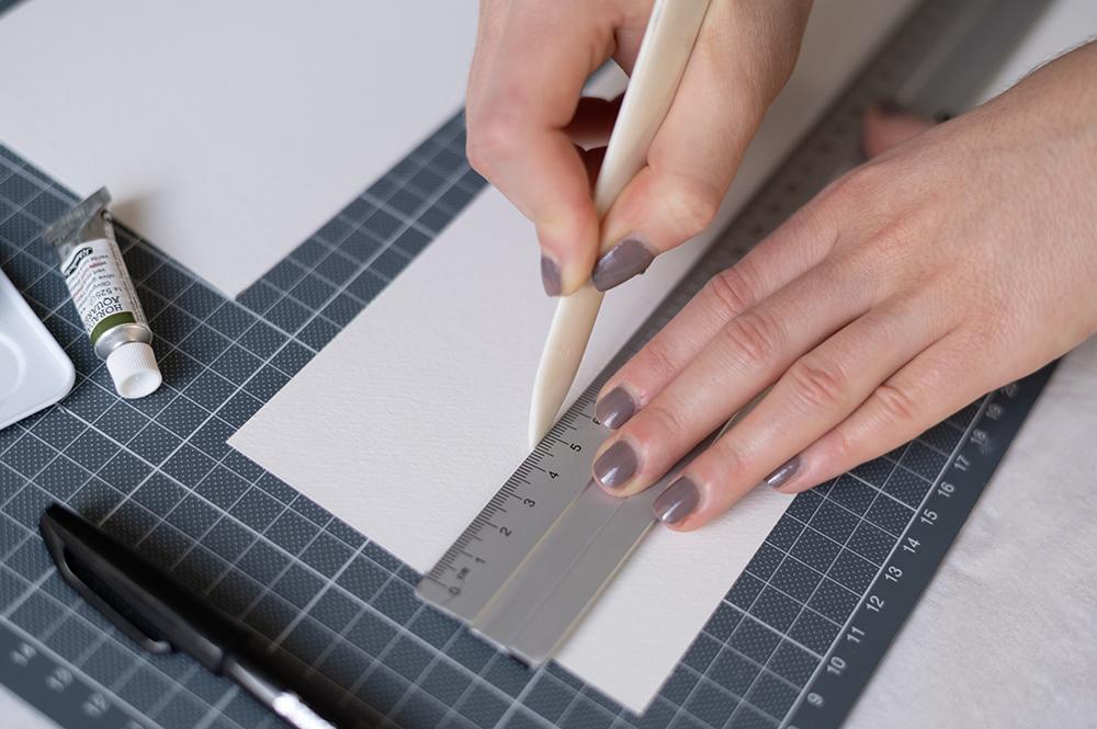 Tischkarten falzen | we love handmadeTischkarten falzen | we love handmade