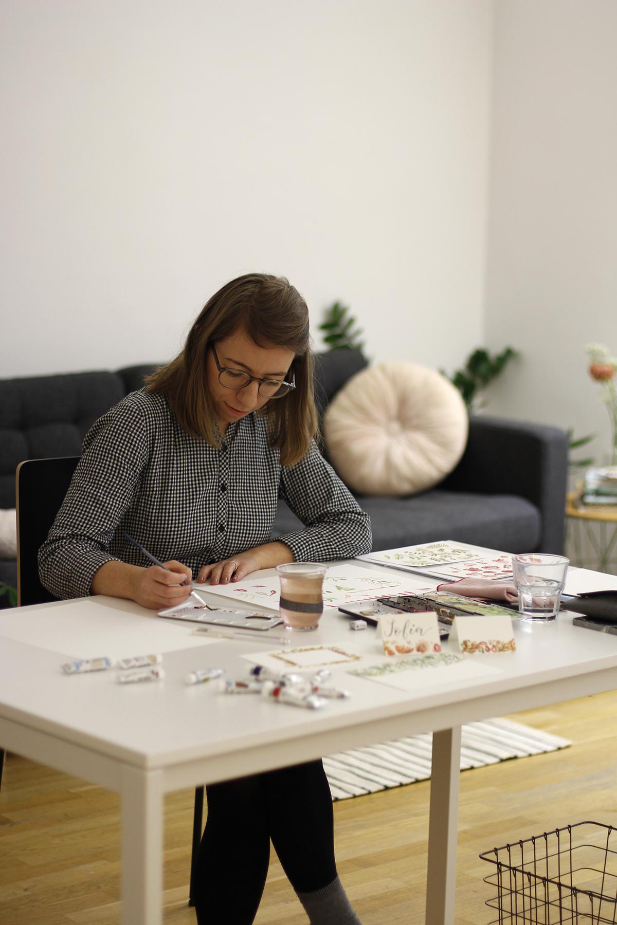 Watercolor DIY-Workshop Wien | we love handmade