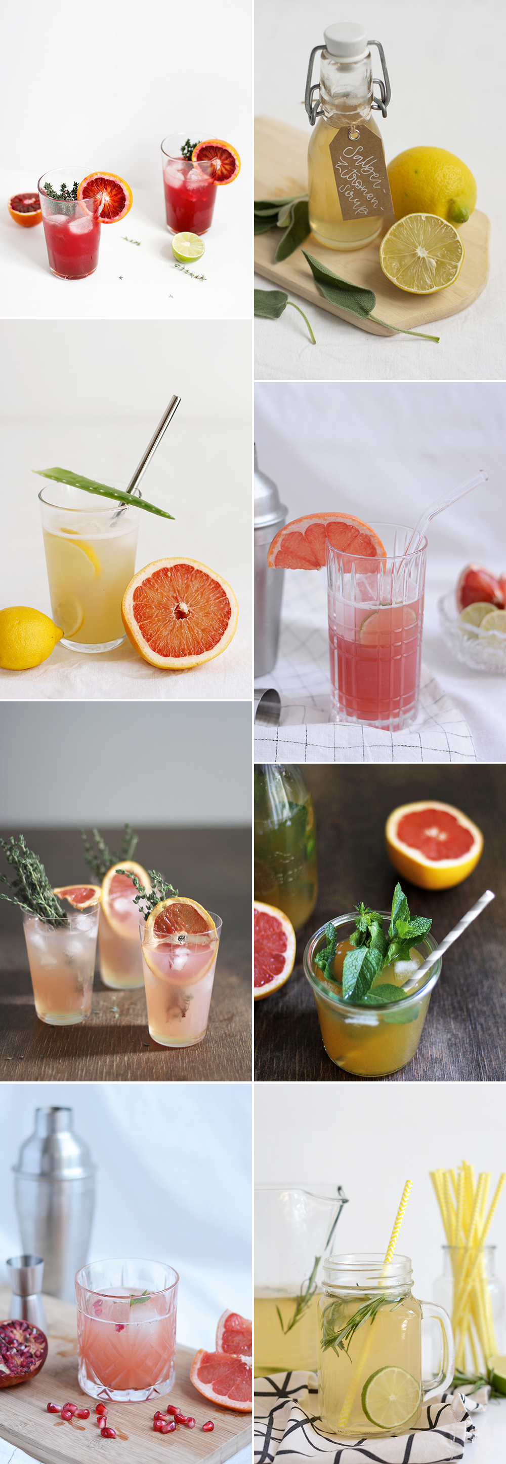 we love Inspiration: Unsere liebsten Drinks mit Zitrusfrüchten | we love handmade