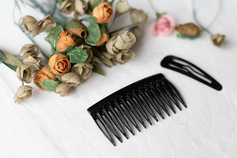 Blumen-Haarspange: DIY-Material | we love handmade