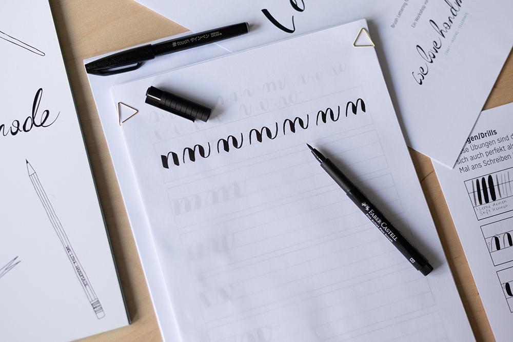 Craft Kit: Brush Lettering | we love handmade