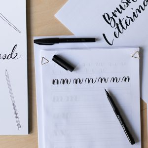 DIY-Kit: Brush Lettering | we love handmade