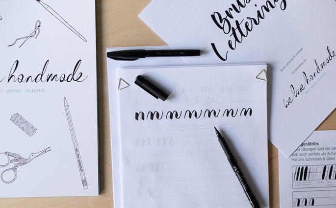 DIY-Kit: Brush Lettering | we love handmade