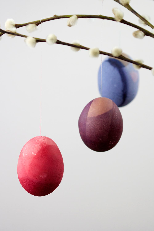 DIY: Ostereier färben   we love handmade