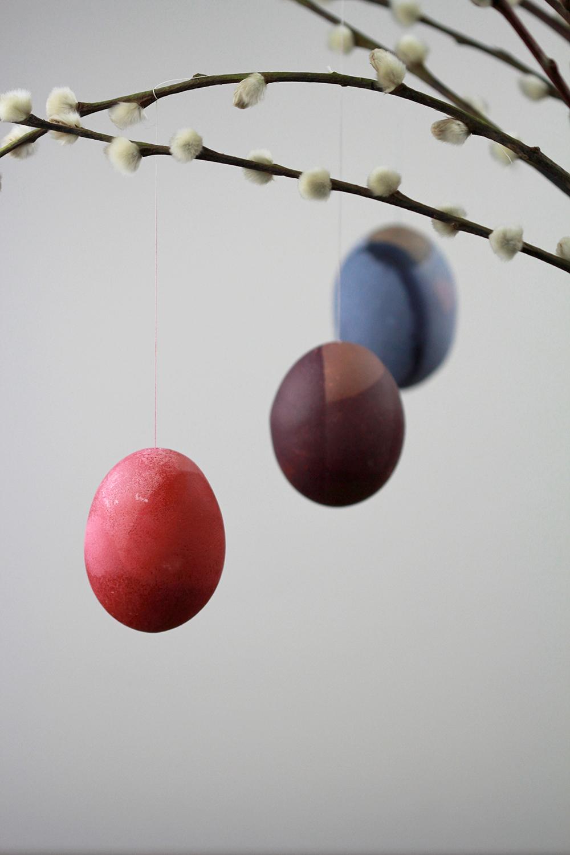DIY: Ostereier färben | we love handmade